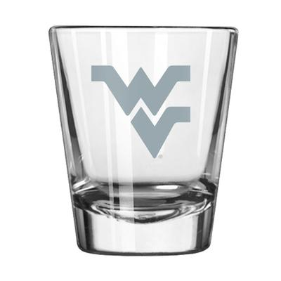 West Virginia 2 oz Frost Shot Glass