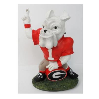 Georgia Painted Mascot Figurine