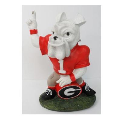 Georgia Painted Mascot Figurine