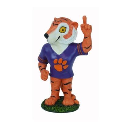 Clemson Painted Mascot Figurine
