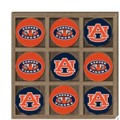 Auburn Tic Tac Toe Game
