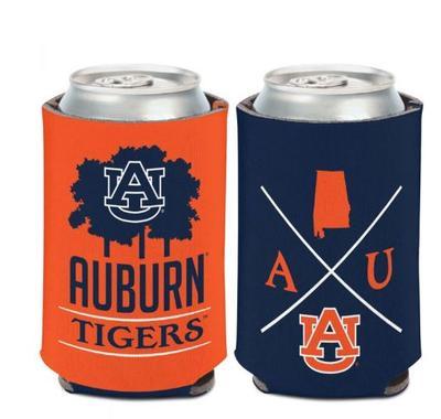 Auburn 12 oz Hipster Can Cooler