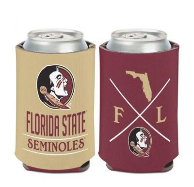 Florida State 12 oz Hipster Can Cooler