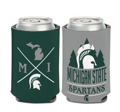 Michigan State 12 oz Hipster Can Cooler