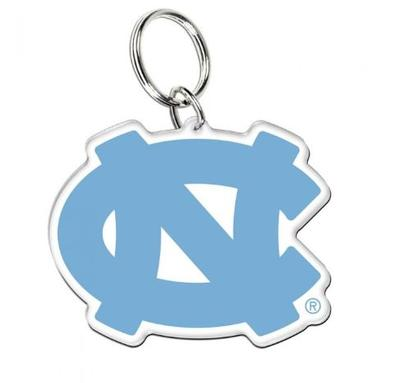 UNC Acrylic Interlock NC Key Ring