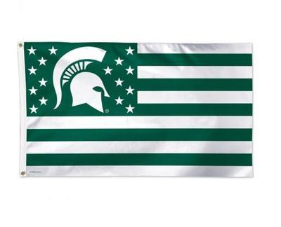 Michigan State Striped Flag