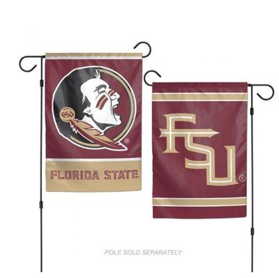 Florida State Double Sided Garden Flag