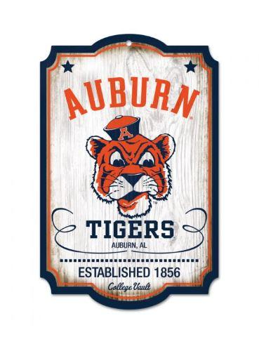 Auburn Vault Wood Sign