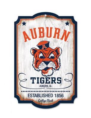 Auburn Vault Wood Sign