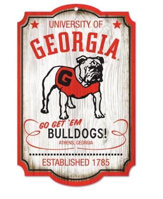 Georgia Vintage Wood Sign