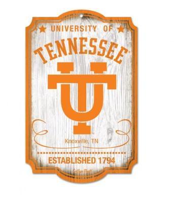 Tennessee Vault Wood Sign