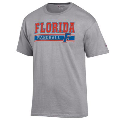 Florida Champion Baseball Bar Stack Tee