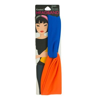 Pomchie Fanta and Royal Two Toned Knotted Headband