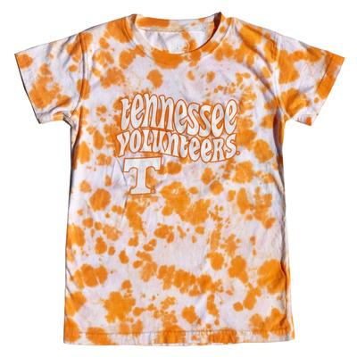 Tennessee Wes And Willy YOUTH Tie Dye Retro Tee - Lighter Colors