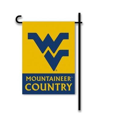 West Virginia Two Sided Garden Flag