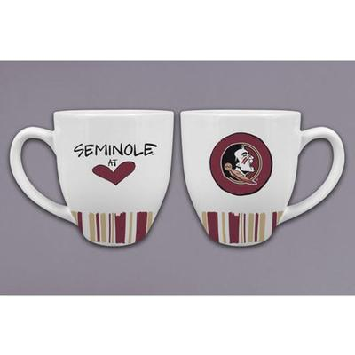 Florida State Magnolia Lane Heart Mug