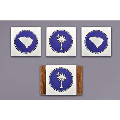 Magnolia Lane State Coaster Set