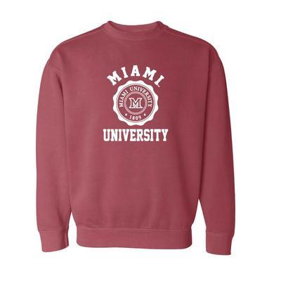 Miami Summit Seal Comfort Colors Sweatshirt