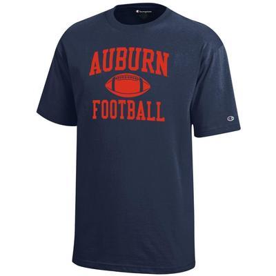 Auburn Champion Youth Auburn Football Tee