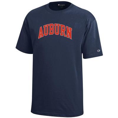 Auburn Champion Youth Arch Auburn Tee
