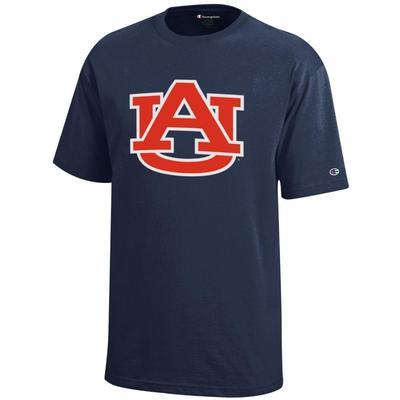 Auburn Champion Youth Giant AU Tee