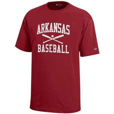 Arkansas Champion Youth Baseball Tee
