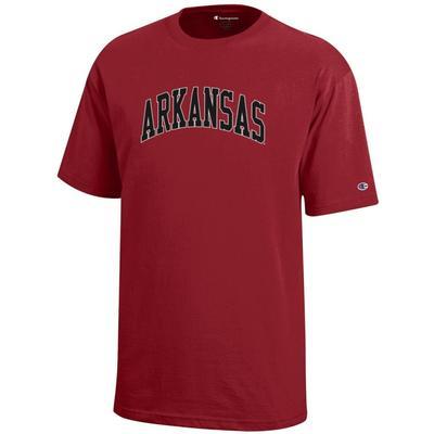 Arkansas Champion Youth Arch Arkansas Tee