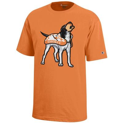 Tennessee Champion Youth Giant Howling Smokey Tee