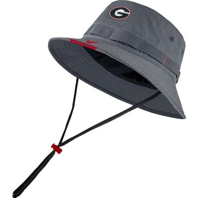 Georgia Nike Dri-fit Bucket Hat FLINT_GREY