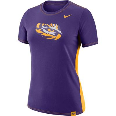 LSU Nike Women's Breath Short Sleeve Tee