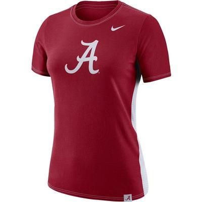 Alabama Nike Women's Breath Short Sleeve Tee