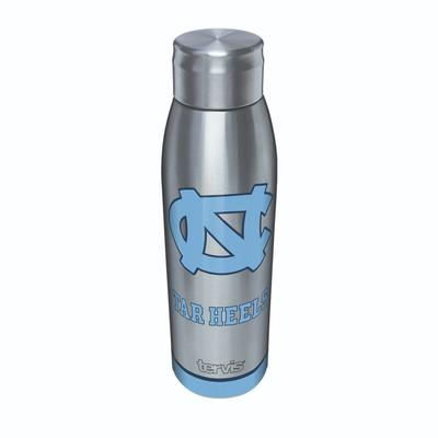 UNC Tervis 17 oz Stainless Slim Bottle