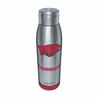 Arkansas Tervis 17 oz Stainless Slim Bottle
