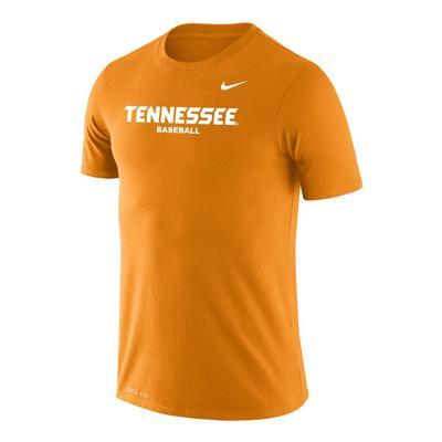 Tennessee Nike Baseball Legend Short Sleeve Tee