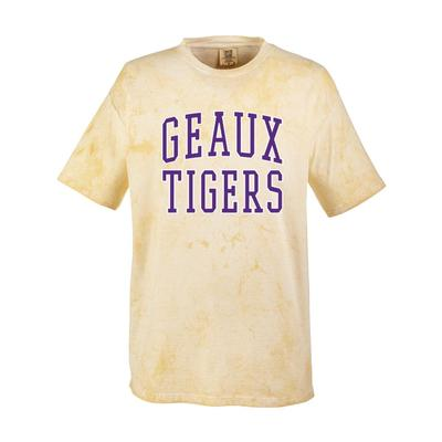 LSU Summit Geaux Tigers Colorblast Arch Short Sleeve Tee