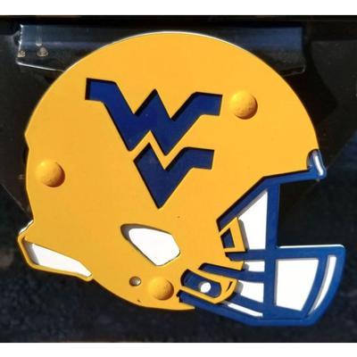 West Virginia Helmet Hitch Cover