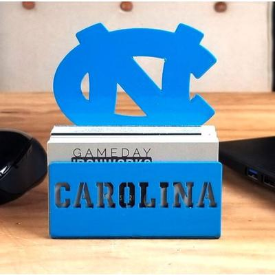 UNC Business Card Holder