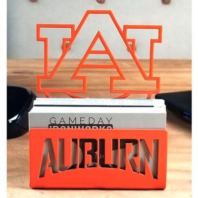 Auburn Business Card Holder