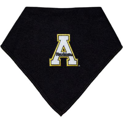 Appalachian State Creative Knitwear Bandana A Logo Print Bib