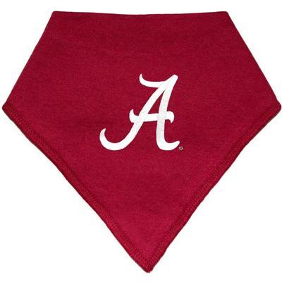 Alabama Creative Knitwear Bandana Script A Logo Print Bib