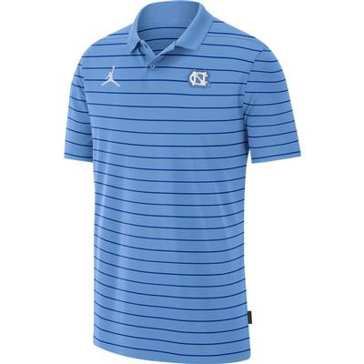 UNC Men's Nike Jordan Brand Victory Coach Polo