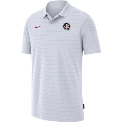 Florida State Men's Nike Victory Coach Polo WHITE