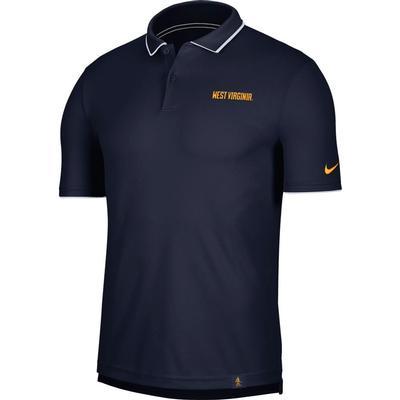 West Virginia Men's Nike Dry UV Collegiate Polo