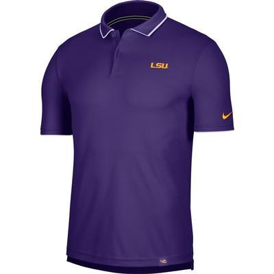 LSU Men's Nike Dry UV Collegiate Polo
