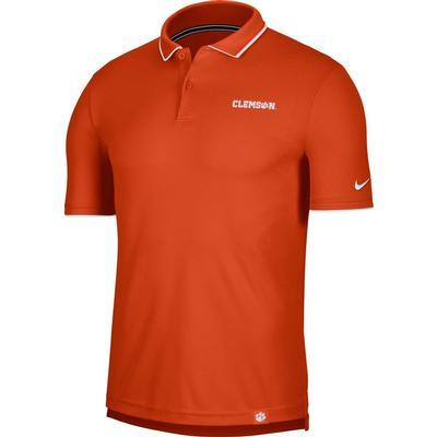 Clemson Men's Nike Dry UV Collegiate Polo