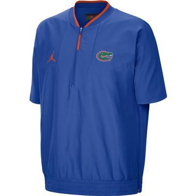 Florida Nike Men's Jordan Brand Lightweight Coach Short Sleeve Jacket