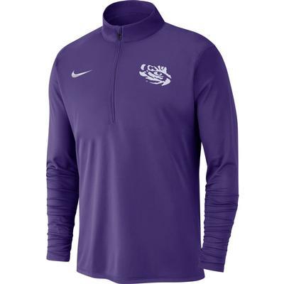 LSU Nike Men's Dry Pacer Quarter Zip Pullover