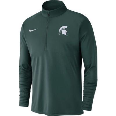 Michigan State Nike Men's Dry Pacer Quarter Zip Pullover