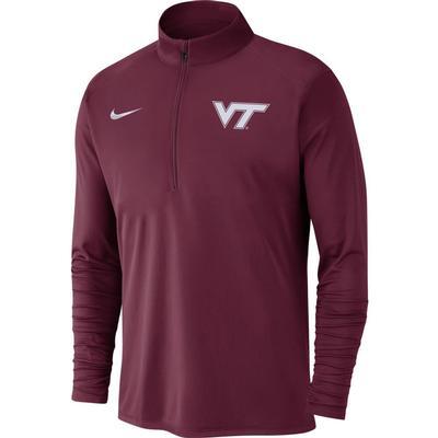 Virginia Tech Nike Men's Dry Pacer Quarter Zip Pullover