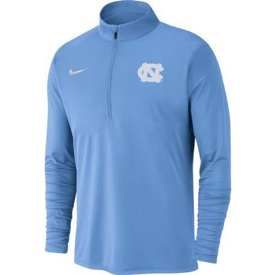 UNC Nike Men's Dry Pacer Quarter Zip Pullover